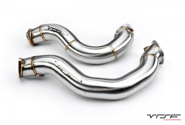 VRSF Downpipes Inox line (N54)