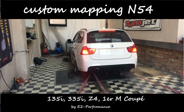 MHD custom mapping N54 (135i, 335i, Z4, 1er M Coupé)