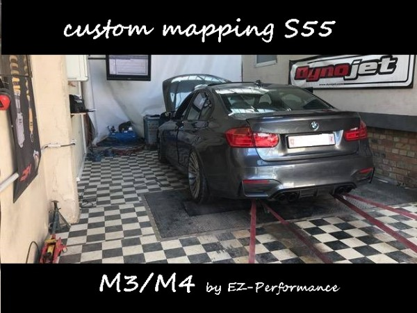 MHD custom mapping S55 (M3/M4)